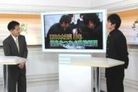 震災取材 NHKで紹介される