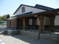 木造校舎玄関